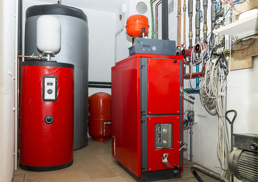 High Safety Biomass Thermal Oil Boiler 1000-7000 Kw Easy